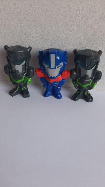 Figurki Transformers Nestle x3 2015r.