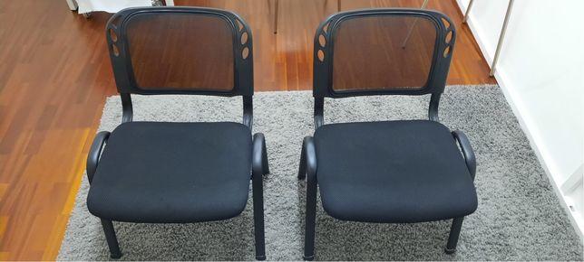 Conjunto 2 cadeiras escritório