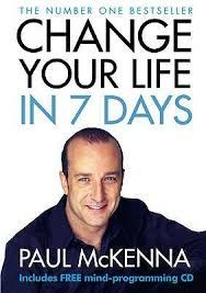 English book- Change your life in 7 days. Paul McKenna +CD