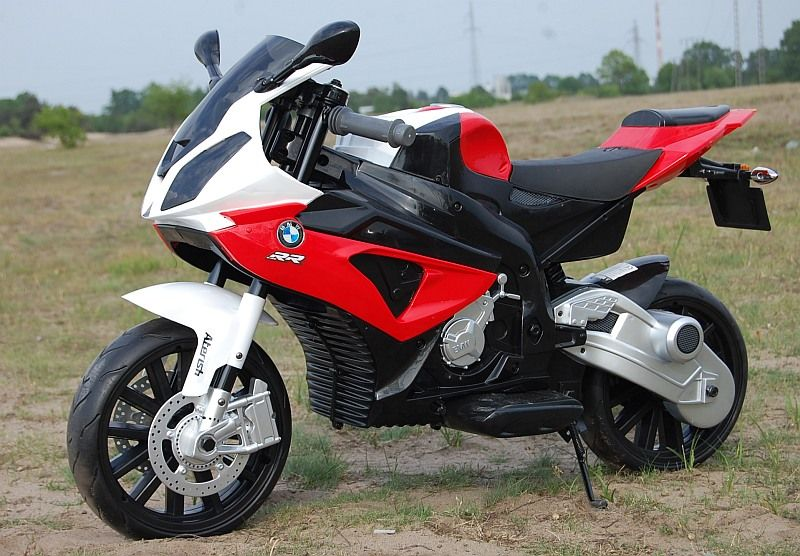 NOWY Pojazd Motor BMW S1000RR na akumulator dla dzieci Odbiór osobisty Olkusz - image 1