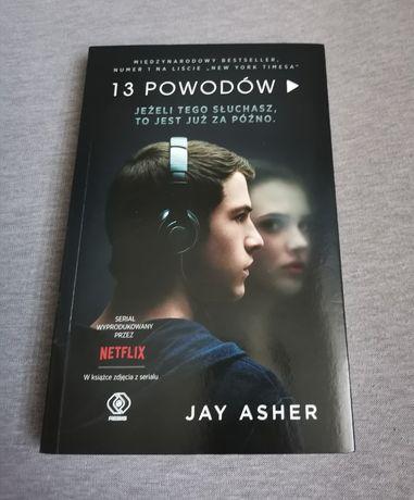 13 powodów Jay Asher książka ze zdjęciami z serialu   13 reasons why