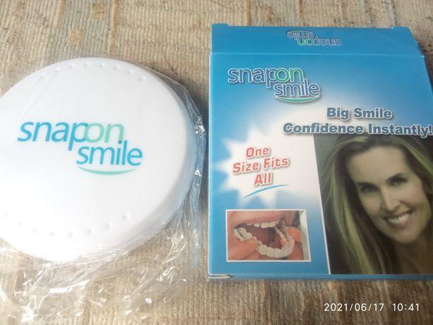Съемные виниры для зубов виниры veneers snapon