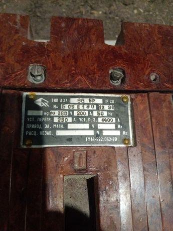 Автомат электрический А37 86Бр 200а