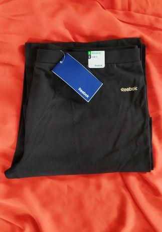 Czarne dresy Reebok XL nowe