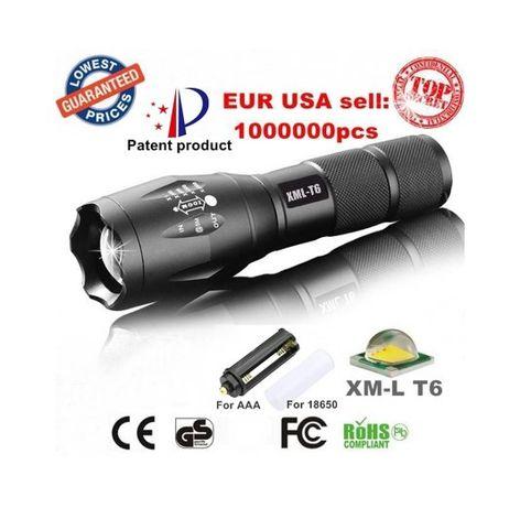 Lanterna LED Militar de alta qualidade (kit completo).