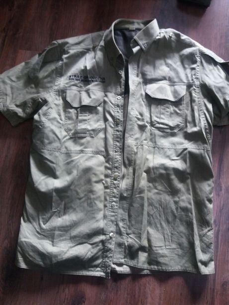 Koszula krótki rękaw sg straż graniczna