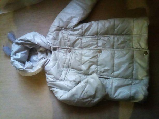 Пальто-куртка для дівчинкі весна -осінь