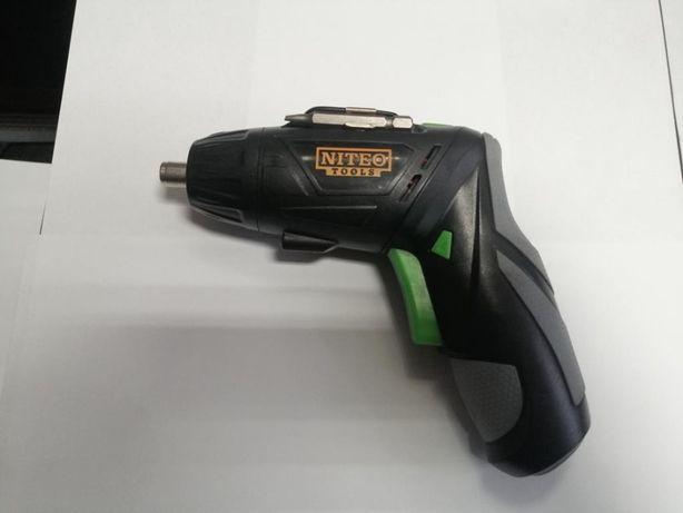 Wkrętak akumulatorowy NITEO TOOLS , ładowarka