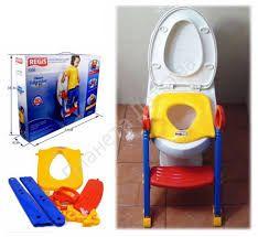 Детское сидение на унитаз с лесенкой Kids Toilet Trainer