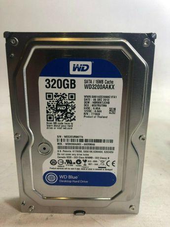 """Western Digital 320GB 3.5"""" SATA Hard Drive WD Caviar Blue"""
