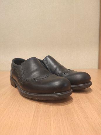 Туфли-слипоны кожаные детские Ecco