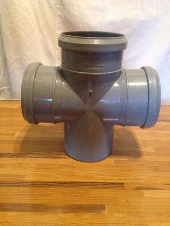 Крестовины ПВХ для наружной канализации d110мм