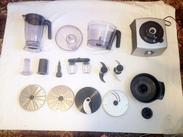 rozbudowany ROBOT KUCHENNY Philips 1000W + b. liczne akcesoria