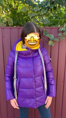 Продам новую зимнюю куртку/ пуховик 42-44 размер