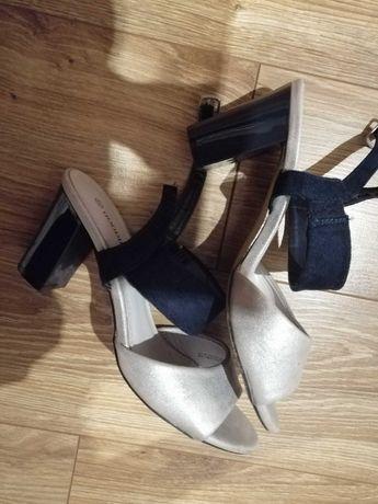 Sandałki, eleganckie, mały obcas