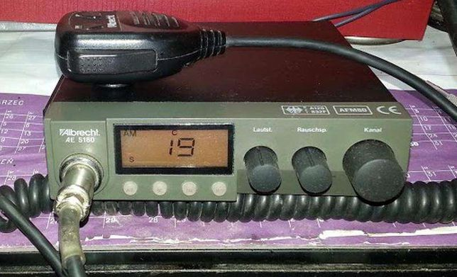 Sprzedam CB Albrecht AE5180 AM\FM 200kan