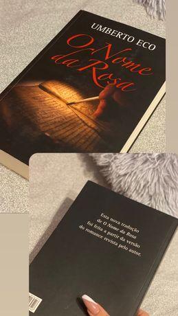 """Livro """"O nome da rosa"""" de Humberto Eco"""