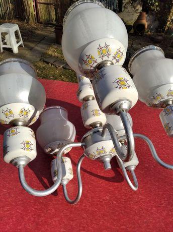 Lampa wisząca ceramiczna