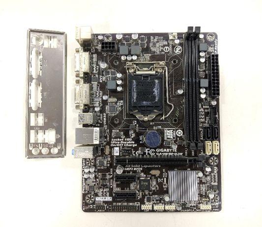 Gigabyte GA-H81M-D2W Материнская плата Intel s1150 DVI(VGA) USB3 SATA3