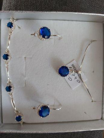 Zestaw komplet bizuterii biżuteria prezent