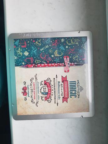Nowe kredki w metalowym pudełku koh - i - noor magic