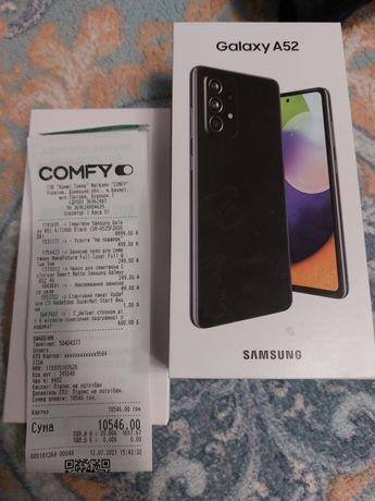Samsung A52.  4-128.Чёрный.Возможен обмен.