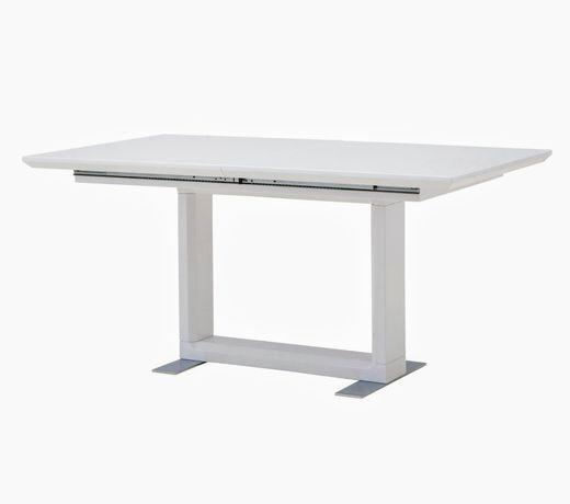 Stół rozkladany Etno New Agata Meble, biały rozsuwany