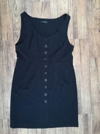 Czarna sukienka XL