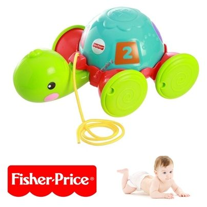 Żółwik na sznurku Fisher Price