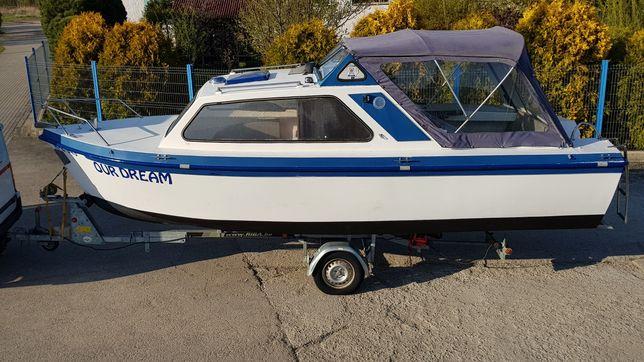 Łódź kabinowa łódka Onedin 650 jak Inter placom Waterland wędkarska