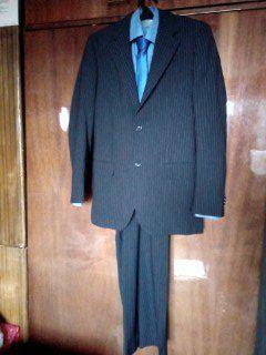 Комплект Костюм р. 46 мужской с рубашкой и галстуком