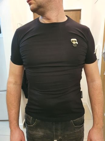 T-shirt koszulka Karl Lagerfeld M slim premium