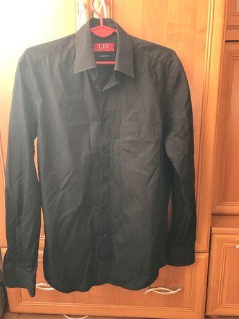 Nowa  czarna koszula męska S