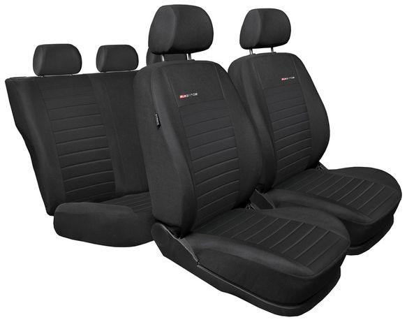Czarne pokrowce samochodowe uniwersalne Ford Focus, Audi A4 i inne