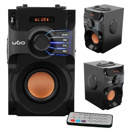 Głośnik Bluetooth UGO SOUNDCUBE 10W FM AUX SD radio budowlane
