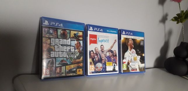 Plyty do gier na ps4