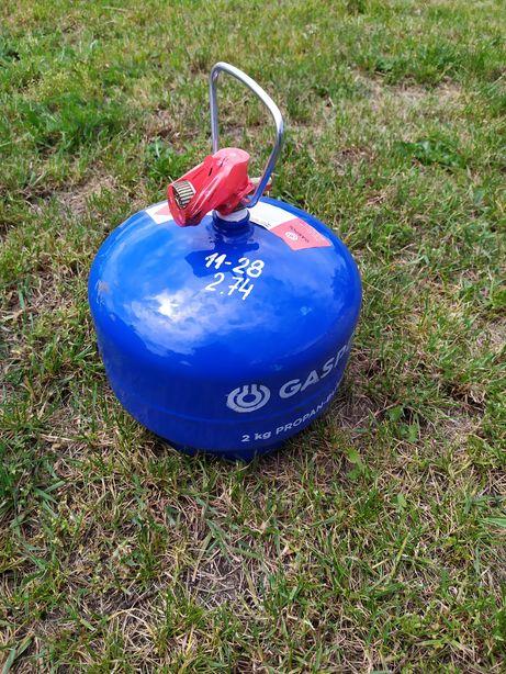 butla turystyczna 2kg z gazem