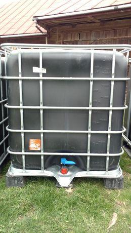 Beczka zbiornik MAUZERY CZYSTE 1000l SCHUTZ na wode rope rsm pojemnik