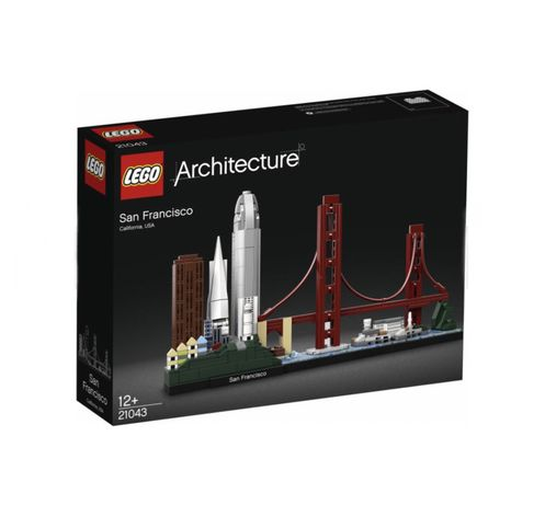 Lego/Лего Architecture San Francisco
