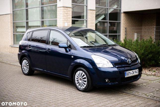Toyota Corolla Verso 1,8 benz,VVT LIFT 7 OSOB, Niemcy. Dodatkowe Alufelgi Toyota z Oponami.