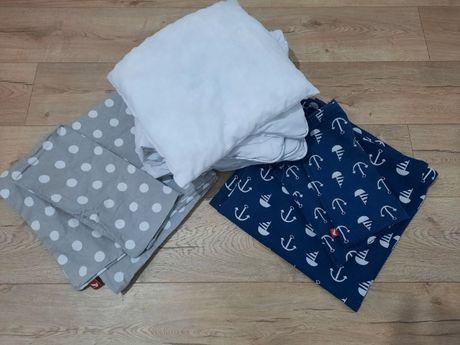 Komplet kołdra , poduszka , 2x pościel dla dzieci