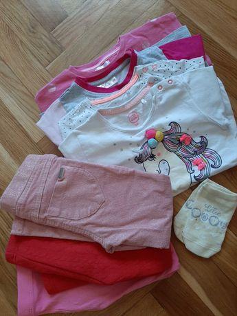 Ubranka dla dziewczynki roz. 98