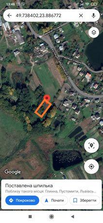 Продаж земельної ділянки під будівництво Пустомити