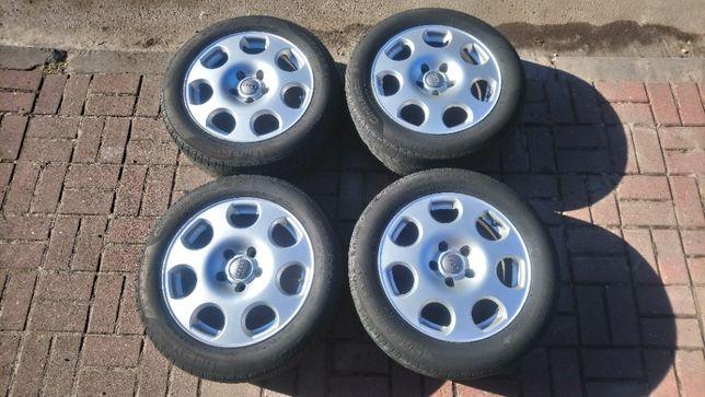 Alufelgi Felgi 16 Cali 5x112 VW Audi Seat Skoda Opony Letnie 205/55R16