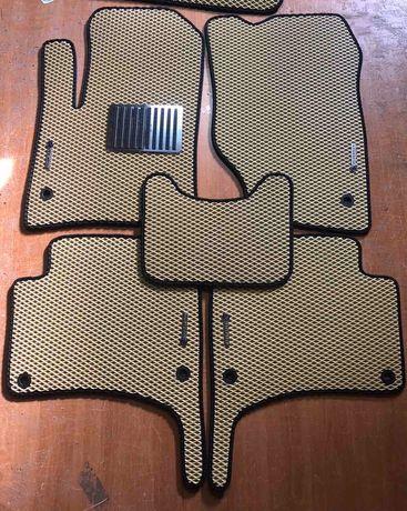 Автоковрики Ева Эва логотипы подпятники брелоки для ключей