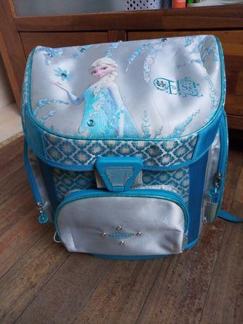 Tornister plecak szkolny Kraina Lodu Firmy Simba ergonomiczny