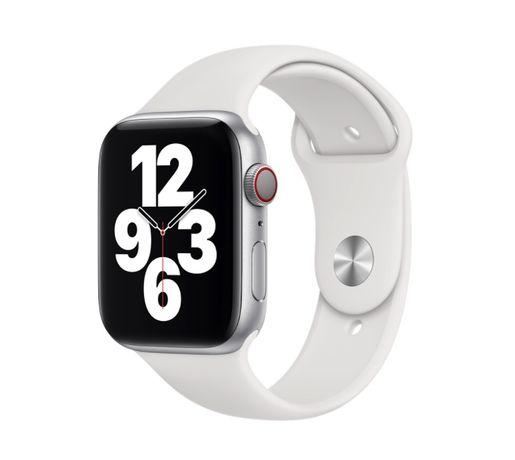 Apple Watch bracelete branca 44 mm