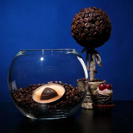 Ваза шар-аквариум
