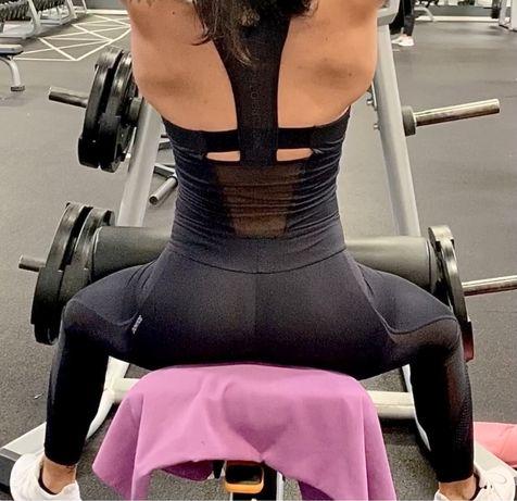 Macacão Fitness Preto - S