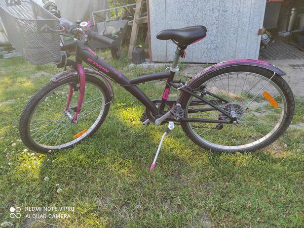 Rower b-twin 24 dla dziewczynki